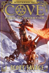 Come see the cover reveal of Mysteries of Cove: Fires of Invention and read a special message from the author of this upcoming steampunk fiction.