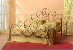 Кованые кровати, мебель | 43 фотографии