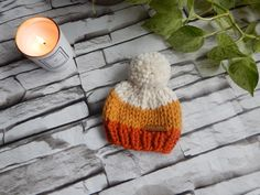 Excited to share this item from my #etsy shop: Newborn Toque, Candy Corn Baby Hat, Gender Neutral Baby Gift, Baby Hat, Newborn Gift, Fall baby Gift Newborn Knit Hat, Newborn Baby Gifts, Head Shapes, Fall Baby, Gender Neutral Baby, Acrylic Wool, Candy Corn, Newborn Photos, Baby Hats