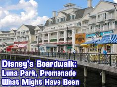 WDW Radio Show # 313 - Disney's Boardwalk: Luna Park Pool, The Promenade History and Details and What Disney's Boardwalk Might Have Been