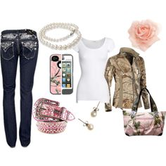 """""""Pink Country"""" by gabriellepaige on Polyvore"""