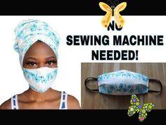 Diy face mask // no sewing machine // no sew // how to make a medical face mask with no sewing - youtube.<br> Easy Face Masks, Homemade Face Masks, Face Mask Diy, Nose Mask, Mascarilla Diy, Pocket Pattern, Diy Mask, Mask Making, Sewing Patterns Free