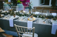 A Relaxed and Rustic Beachside Vow Renewal in Shades of Gold and Green | Love My Dress® UK Wedding Blog