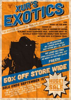 Xur's Exotics