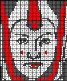 Queen Amidala Star Wars Quilt, Star Wars Room, Star Wars Crochet, Crochet Stars, Crochet Square Patterns, Cross Stitch Patterns, Lego Mosaic, Queen Amidala, Graph Paper Art