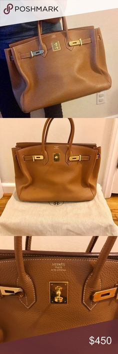 💝 BIRKIN 35💝 Comes w/ dustbag. No lock and key. 100% real leather. No trades. This price is for 🅿️🅿️ price only due to posh fees Hermes Other