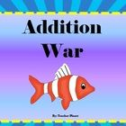 Addition War! A fun game for all!  In Addition War students learn to add numbers and compare sums. This fun game that we all grew up with is now in...