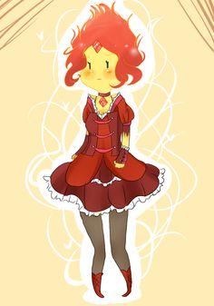 Flame Princess by SplicedLamia on DeviantArt Time Cartoon, Cartoon Fan, Cartoon Tv Shows, Cartoon Characters, Adventure Time Flame Princess, Adventure Time Art, Adventure Awaits, Popcorn Times, Fanart