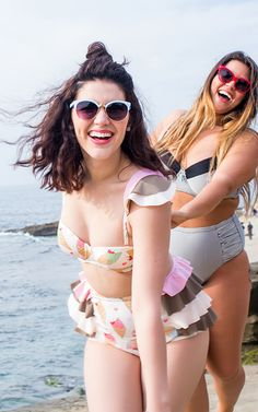 Here Comes the Fun: Fresh, exuberant swimwear for all.