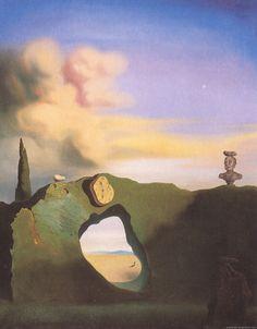 La hora triangular - Salvador Dalí, 1933, óleo en lienzo