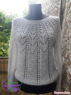 in russian - has graph may be able to do it Knitting Paterns, Lace Knitting, Knitting Stitches, Knitting Designs, Knit Crochet, Summer Knitting, How To Purl Knit, Sweaters For Women, Google Translate