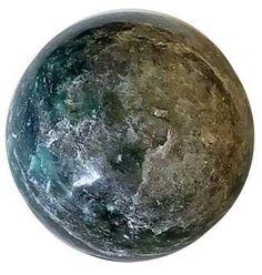 1# Emerald Fuchsite Sphere