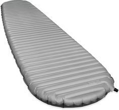 Therm-a-Rest Neo-Air Xtherm Sleeping Pad | If there's one piece of camping gear spending a few extra bucks on, it's a good sleeping pad. The XTherm air mattress delivers, by far, the greatest warmth-to-weight ratio available in any air mattress, allowing you to go lighter than ever. This pad rolls up to about the size of a water bottle.