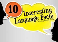 10 Interesting Language Facts...