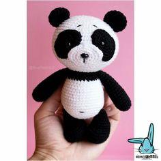 Cute toys and patterns here: wwww.etsy.com/shop/BlueRabbitLV amigurumi crochet pattern crochet panda diy handmade toy kawaii cute wild animal