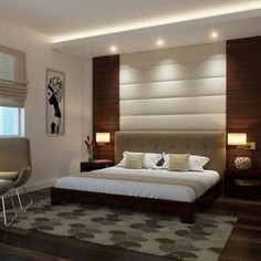 Great Modern Bedroom Ideas 2018 In 2019 Bedroom Bed Design Wow 101 Sleek Modern Master Bedroom Ideas Photos Master Inspiration Modern Bedroom Design Ideas 2018 Ceiling Design Living Room, Bedroom False Ceiling Design, Luxury Bedroom Design, Bedroom Furniture Design, Bedroom Ceiling, Master Bedroom Design, Bedroom Ideas, Bedroom Lighting, Diy Bedroom