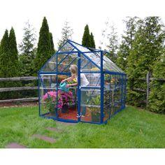 Palram Harmony 6 x 10 ft. Hobby Greenhouse