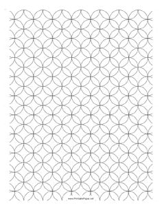 Graph Paper With A  To  Grid Layout Free To Download And Print