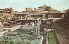 An imperial imprint. &  Frank Lloyd Wright's Imperial Hotel http://paradiseleased.wordpress.com/2012/06/18/interlude-frank-lloyd-wrights-imperial-hotel/