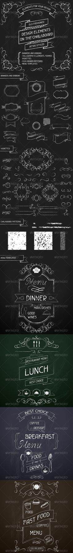 Chalkboard Designs Ideas find this pin and more on chalkboard ideas Design Elements On The Chalkboard