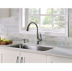 Exceptionnel Pasadena 1 Handle, Pull Down Kitchen Faucet In Slate Finish