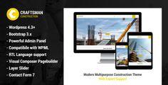 Craftsman Construction  -  https://themekeeper.com/item/wordpress/craftsman-construction
