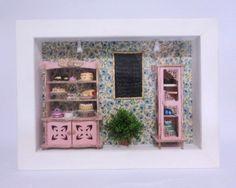 Roombox La Confeitaria.À venda no site e sob encomenda:contatolalyblue@gmail.com  www.facebook.com/lalybluelemrancascriativas