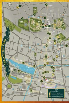 Print a Lincoln Knights' Trail map HERE | Lincolnshire Live