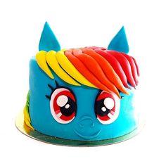 Rainbow Dash My Little Pony Cake