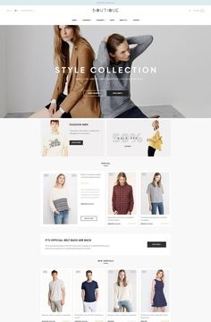 Leo BTQ Prestashop theme Fashion Web Design, Ecommerce Web Design, Website Themes, Leo, Branding, Banners, Creative, Layouts, Cards
