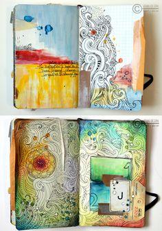 Jenn Olson art journal
