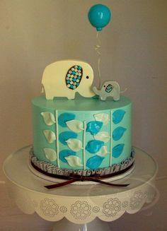 Sweet elephant cake.