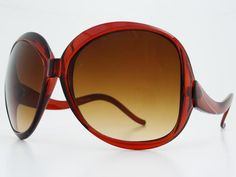 Retro Oversized Womens Sunglasses O032 Orange