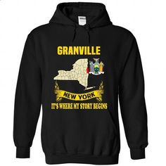 Granville - Its where my story begins! - #tee trinken #sweater style. MORE INFO => https://www.sunfrog.com/No-Category/Granville--Its-where-my-story-begins-7661-Black-Hoodie.html?68278