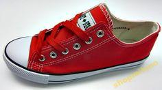 Trampki damskie wiązane 8223-1 czerwone rozm36-41 http://allegro.pl/trampki-damskie-wiazane-8223-1-czerwone-rozm36-41-i3433660581.html