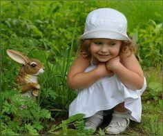 Little Cuties In the Garden..