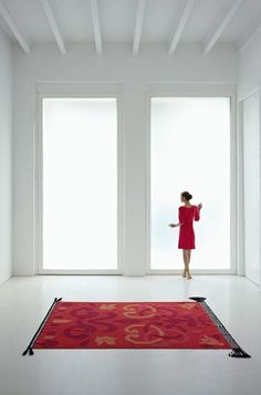 'Arabesco Wool Kilim Rug by Gandia Blasco. @2Modern'