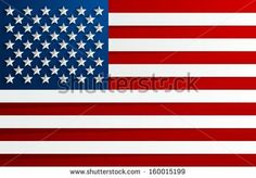 Creative Abstract Flag of USA Background - stock vector