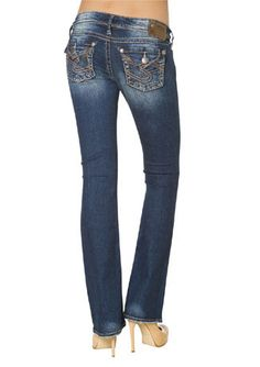 Silver Jeans = love. | Fa-fa-fashion | Pinterest | Chang&39e 3