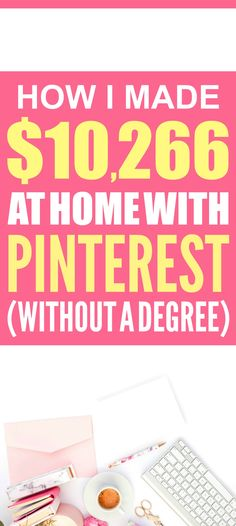 How she made over $10,000 from home is SO COOL! I'm so glad I found these AWESOME tips! Now I have a great way to make money from home! I'm glad she talked about how to make money blogging! Such a good side hustle idea! Definitely pinning this!