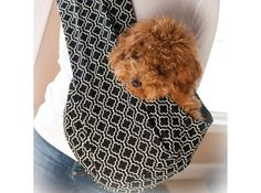 Amazing Pet-Slings for hand-free safe carrying of your pooch.  On sale w/ free shipping @Coupaw