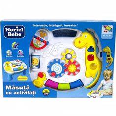Masuta cu activitati educative pentru bebelusi Noriel Bebe   TimeZ.ro Musicals, Toys, Disney Characters, Activity Toys, Clearance Toys, Gaming, Games, Toy, Beanie Boos