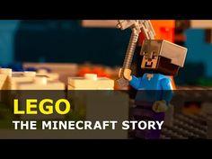 Lego Minecraft, Stop Motion, Usb Flash Drive, Animation, Animation Movies, Motion Design, Usb Drive