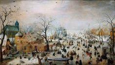Winter in de kunst