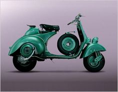 With this model Vespa achieved its most prestigious record in racing - the flying kilometre. It is said that on the 9th February, between the 10th and the 11th kilometre of the motorway Rome (Ostia) the Vespa engine with two opposed pistons, designed by Corradino D'Ascanio, led by Dino Mazzoncini test, achieved the flying kilometre record with a time of 21 seconds and 4 cents which is an average of 171.1 km/h.