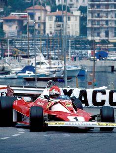 Niki Lauda, Ferrari 312 T2, 1976 Monaco GP