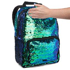 It is the official backpack of mermaids everywhere. Well, okay. It's not waterproof. But other than that, it's the perfect way to tote all your mermaid-y goodies with you wherever you go.
