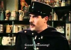 """Good moaning!"" - Allo Allo!"