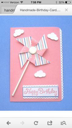 Card pinwheel