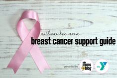 Breast Cancer is a scary diagnosis — for the patient and for the friends and family members who are suddenly thrust into a support network role. It can be overwhelming, to say the least. Breast Cancer Support, Presents For Mom, Suddenly, Milwaukee, Festivals, Something To Do, Health And Wellness, Scary, Friends